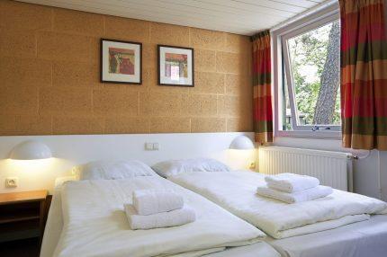 Slaapkamer van een bungalow
