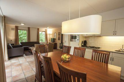 Keuken van een bungalow